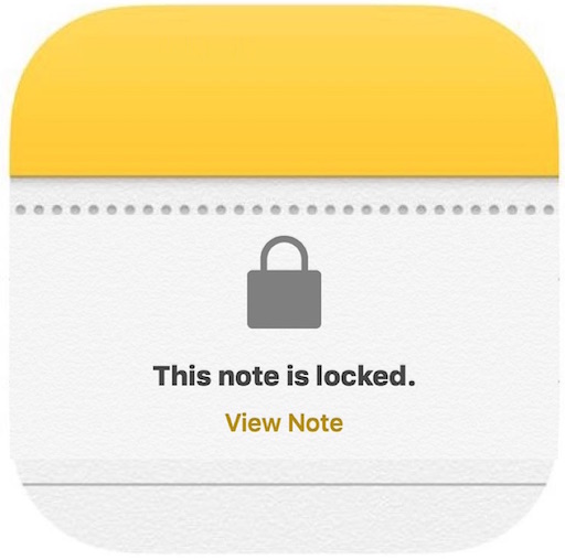 Password lock Notes on iPhone and iPad