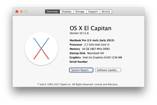 Checking what version of Mac OS X is running on a Mac