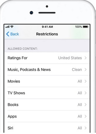 How to limit adult content on iPhone