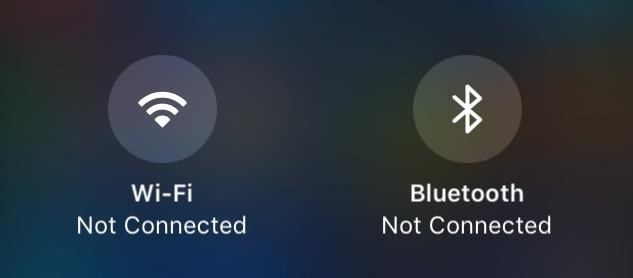 What All the Bluetooth & Wi-Fi Symbols Mean in iOS 11