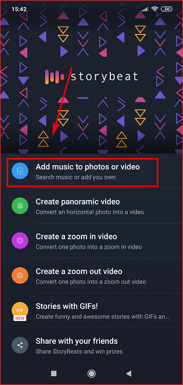 Add music to photos