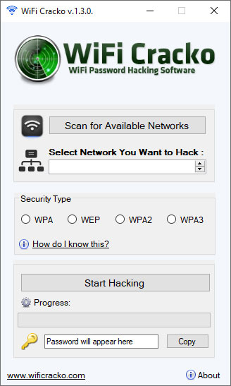 WiFi Hack Tool - WiFi Cracko